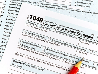 Tax Tables (1040 and 1040-SR)